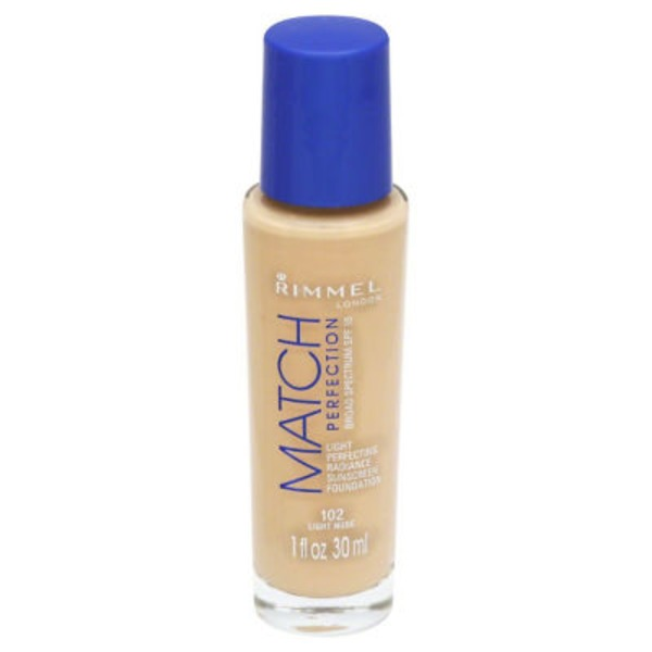 Rimmel Match Perfection Foundation - Light Nude 102