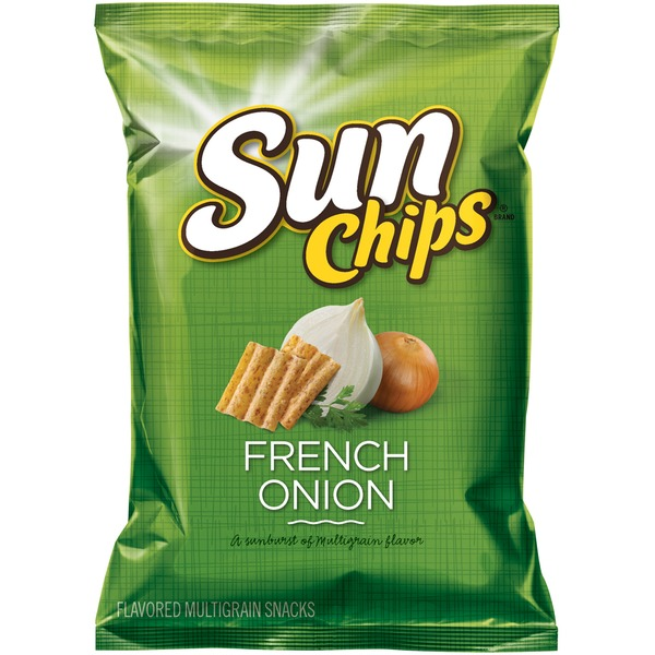 Sun Chips French Onion Corn Wheat Snacks