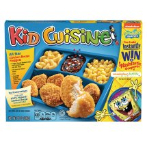 Kid Cuisine All Star Chicken Breast Nugget Meal, 8.8 Ounce