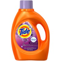 Tide Plus Febreze Freshness Spring and Renewal Scent Liquid Laundry Detergent, 92 oz, 48 loads Laundry