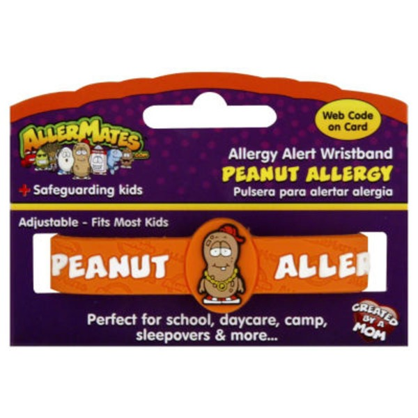 AllerMates Allergy Alert Wristband Peanut Allergy