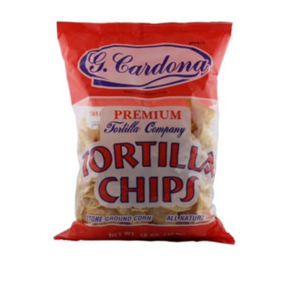 G Cardona Premium All Natural Tortilla Chips
