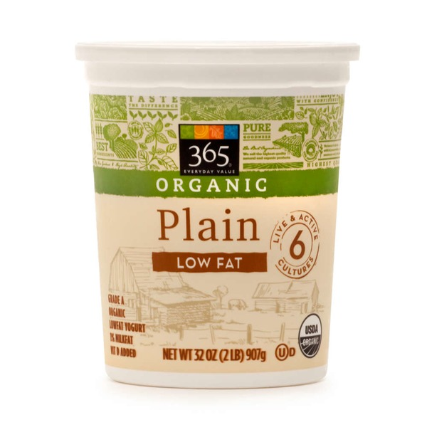 365 Low Fat Plain Yogurt