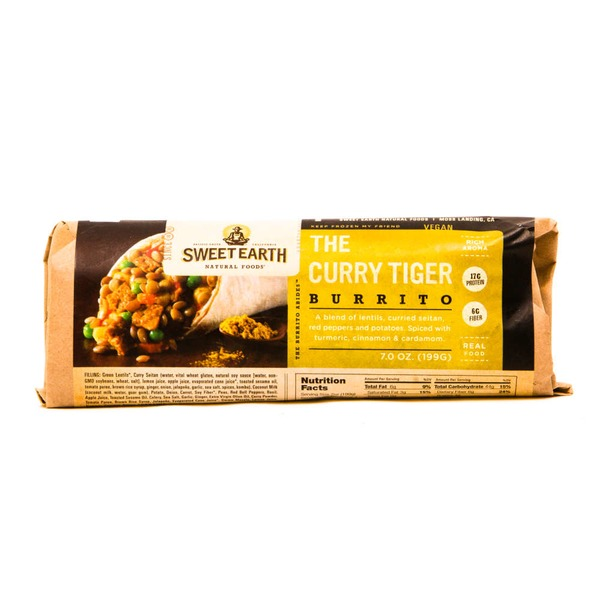 Sweet Earth Natural Foods The Curry Tiger Burrito