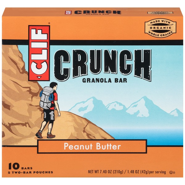Clif Crunch ™ Peanut Butter Granola Bars