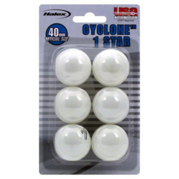 Halex Table Tennis Balls 40 mm