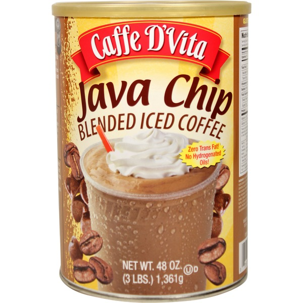 Caffe D'Vita Java Chip Blended Iced Coffee