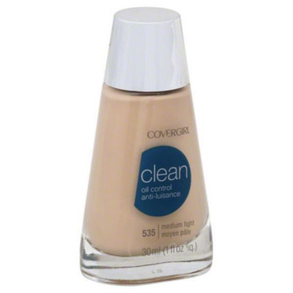 CoverGirl Clean Matte COVERGIRL Clean Matte Liquid Foundation Medium Light 1 fl. oz Female Cosmetics