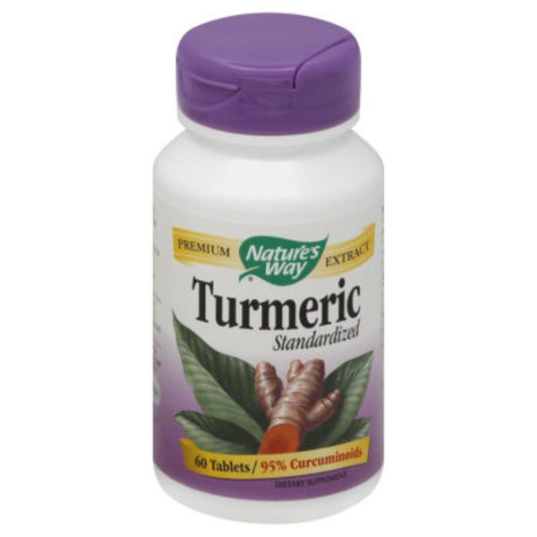 Nature's Way Turmeric Standardized 95% Curcuminoids Tablets - 60 CT
