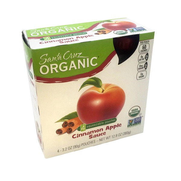 Santa Cruz Organics Cinnamon Apple Sauce Pouches
