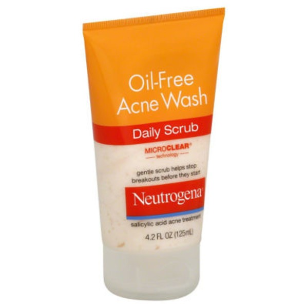 Neutrogena® Daily Scrub Oil-Free Acne Wash