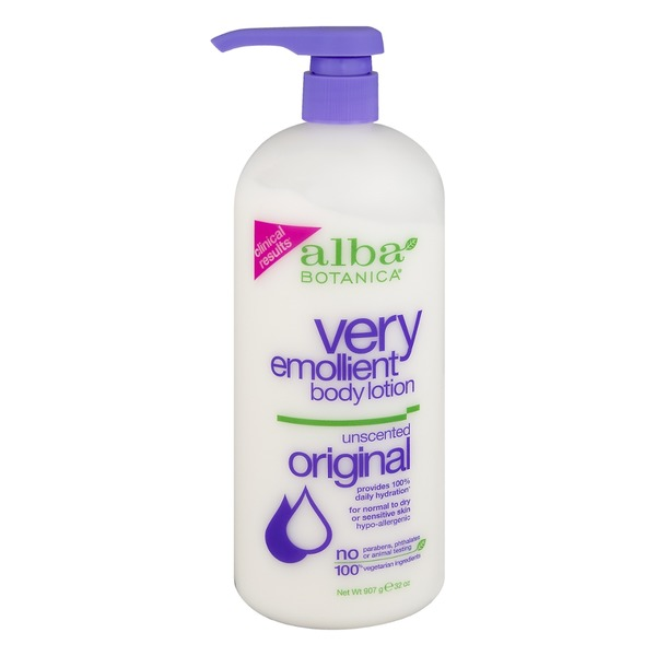 Alba Botanica Very Emollient Body Lotion Original Unscented