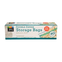 365 Gallon Double Zipper Storage Bag