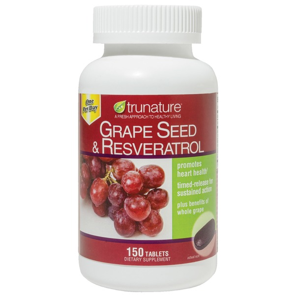 Trunature Grapeseed With Resveratrol