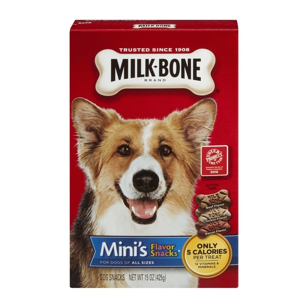 Milk-Bone Milk Bone Flavor Snacks Mini's