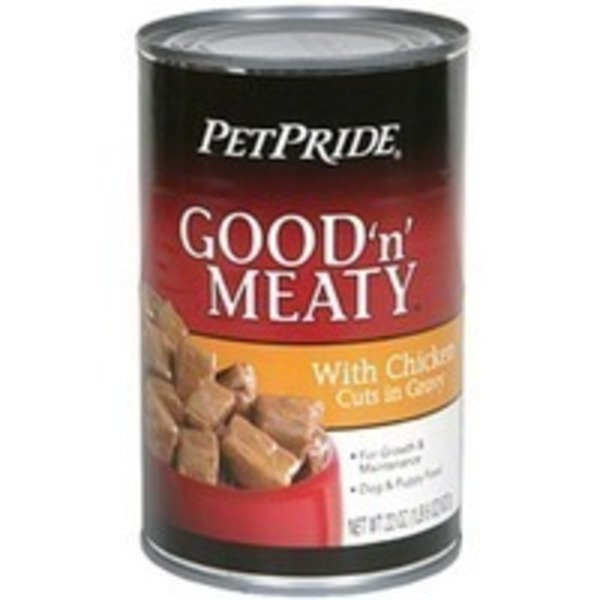 Petes Pride Beef & Chicken Dog & Puppy Food