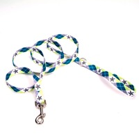 Petco Argyle Star Dog Leash 3/4