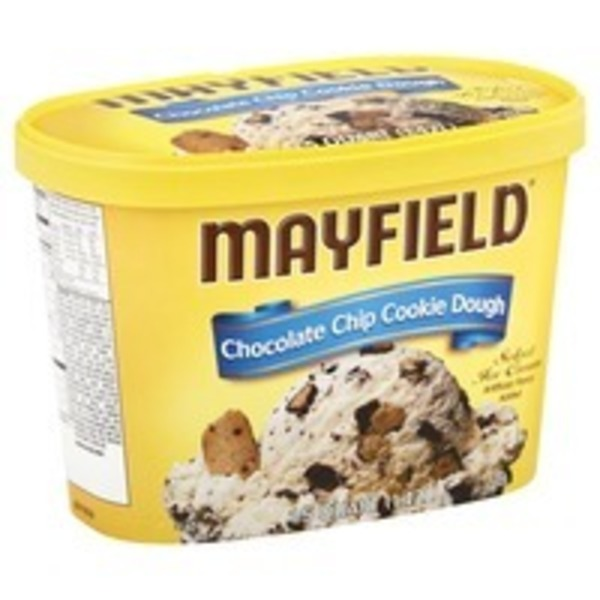 Mayfield Ice Cream, Select, Chocolate Chip Cookie Dough