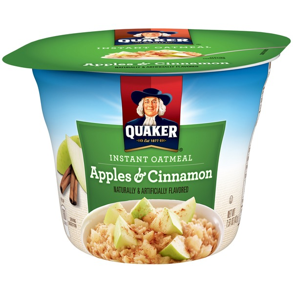 Quaker Oatmeal Apples & Cinnamon Instant Oatmeal