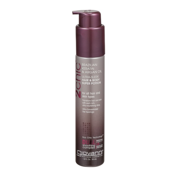 Giovanni 2Chic Hair & Body Super Potion Brazilian Keratin & Argan Oil