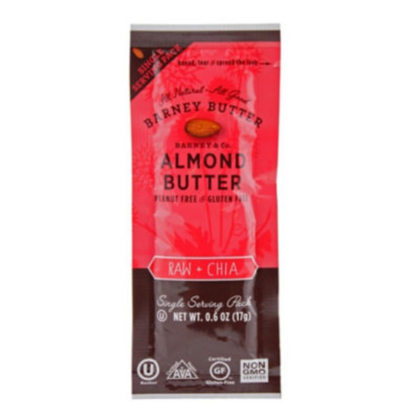 Barney Raw & Chia Almond Butter