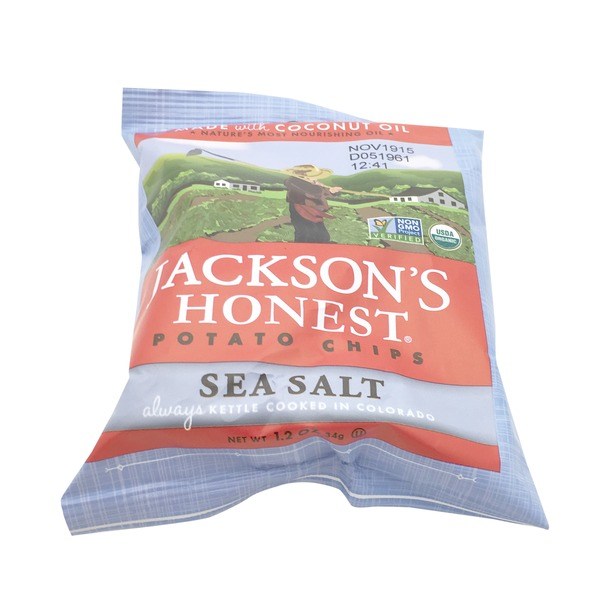 Jacksons Honest Sea Salt Potato Chips
