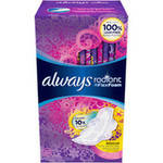 Always Radiant Regular Scented Pads with Wings