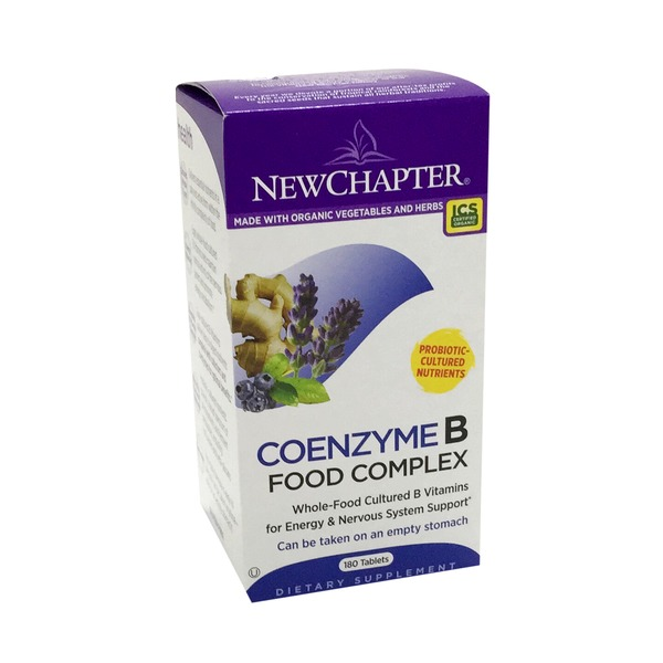 New Chapter Organics Coenzyme B Food Complex