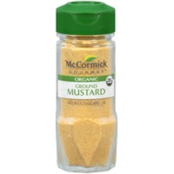 McCormick Gourmet Collection Organic Ground Mustard
