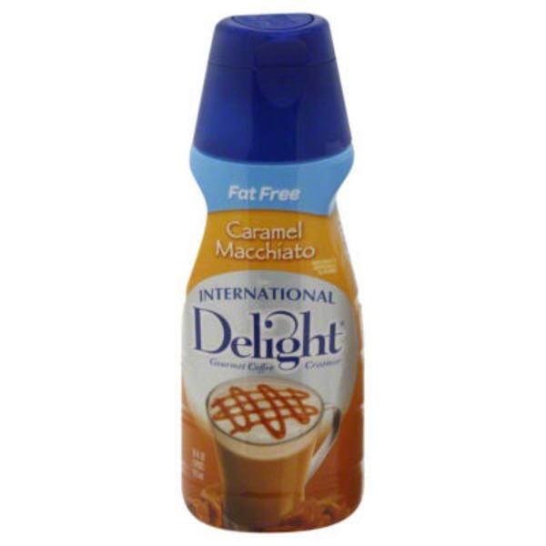 International Delight Fat Free Caramel Macchiato Coffee Creamer