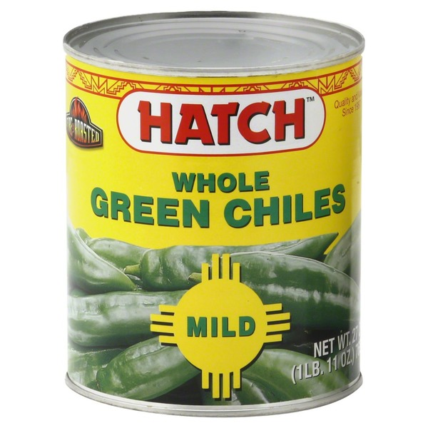 Hatch Green Chiles, Whole, Mild