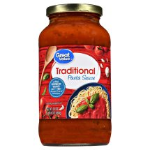 Great Value Traditional Pasta Sauce, 24 oz