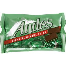 Andes Creme De Menthe Thins Chocolate Candy, 8.5 Oz