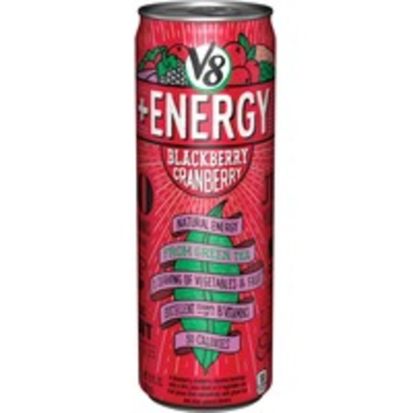V8 +Energy Blackberry Cranberry  Flavored Beverage