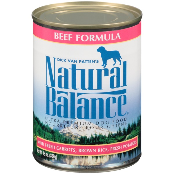 Natural Balance Ultra Premium Beef Formula with Fresh Carrots Brown Rice Fresh Potatoes Dog Food