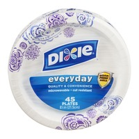 Dixie Everyday Plates - 45 CT