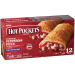 HOT POCKETS Frozen Sandwiches Pepperoni Pizza 12-Pack