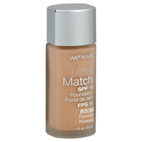 Wet n' Wild Liquid Foundation Porcelain 853A