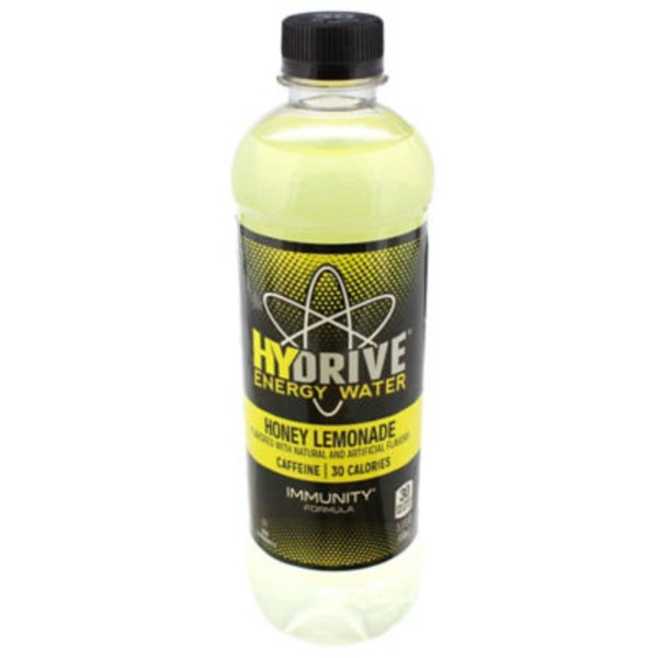 HyDrive Energy Water Immunity Formula Honey Lemonade