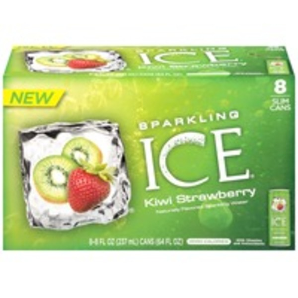 Sparkling ICE Kiwi Strawberry Sparkling Spring Water