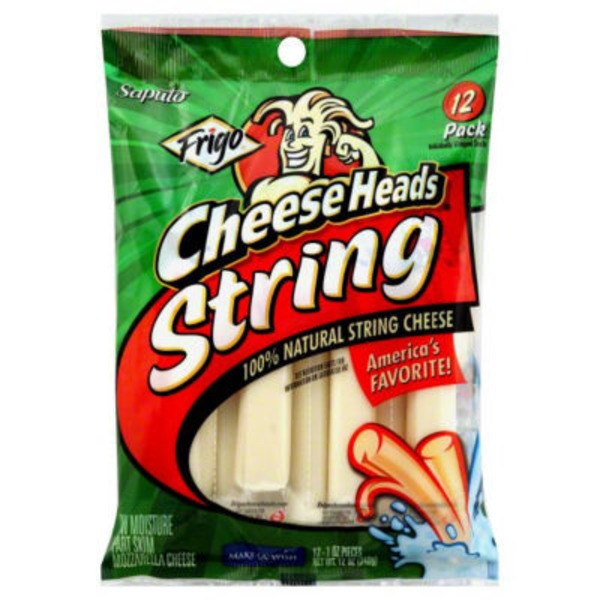 Frigo Cheese Heads Natural String Cheese