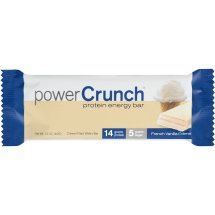 Power Crunch Original French Vanilla Creme Protein Energy Bars, 1.4 oz, 12 count