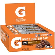 Gatorade Recover? Chocolate Chip Whey Protein Bar 2.8 oz. Pack