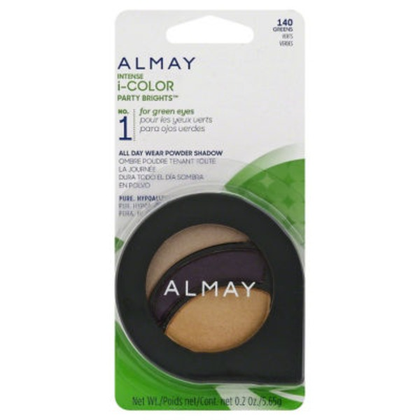 Almay Intense I Color Eye Shadow Brights Greens