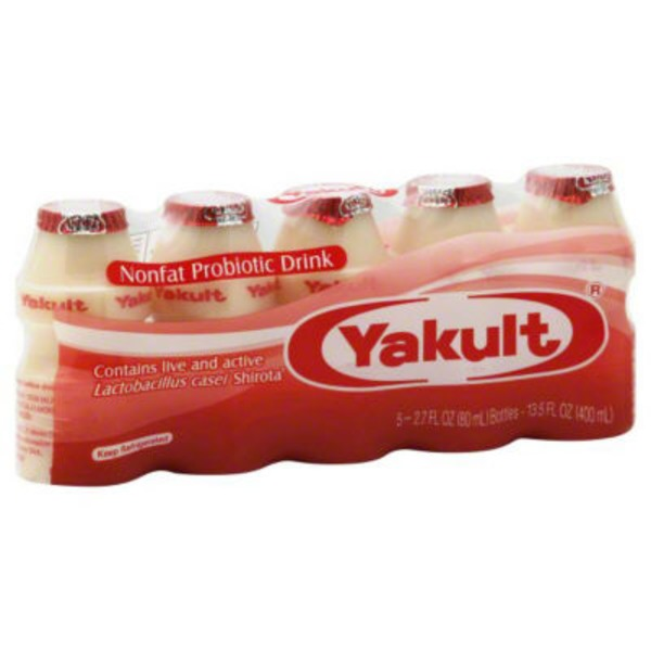 Yakult Nonfat Probiotic Drinks