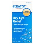 Equate Dry Eye Relief Lubricant Eye Drops, 0.5 Oz