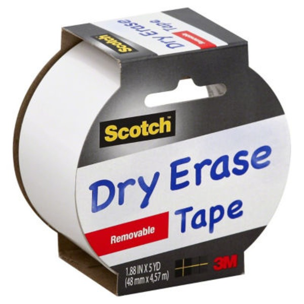 Scotch Dry Erase Tape Removable