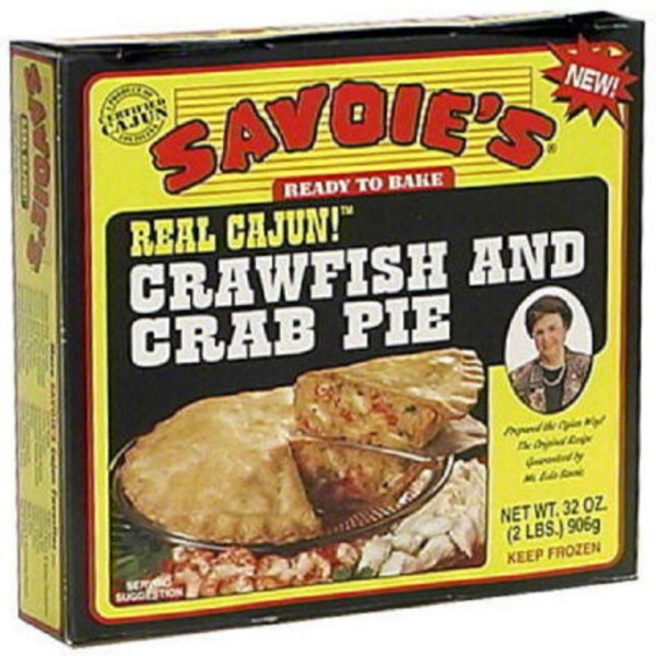 Savoie's Real Cajun Crawfish And Crab Pie