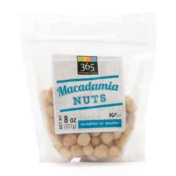 365 Roasted & Salted Macadamia Nuts