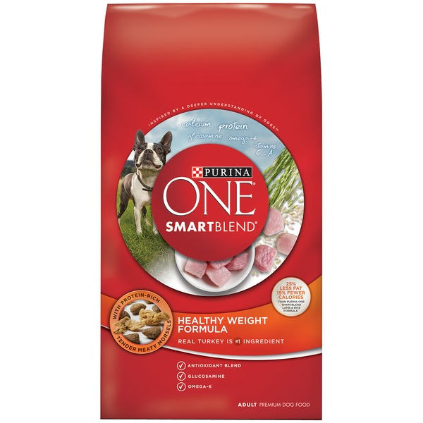 Purina One Dog Dry SmartBlend Healthy Weight Formula Adult Dog Food